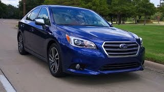 TEST Drive: 2017 Subaru Legacy Sport Review