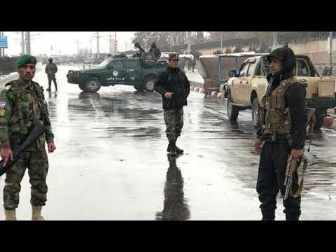 Afghanistan conflict  Deadly attack on Kabul military post