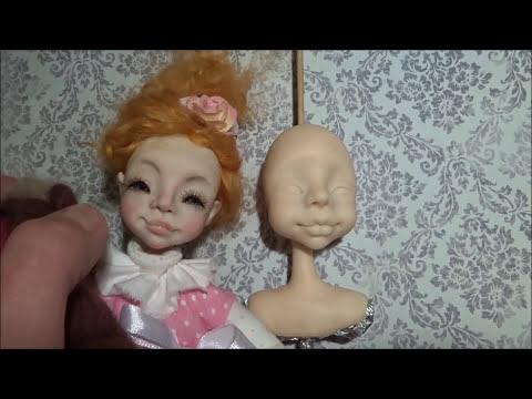 Создаем чудесную куколку из полимерной глины Ярмарка