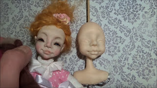 Кукла из полимерной глины по МК Николая Павлова