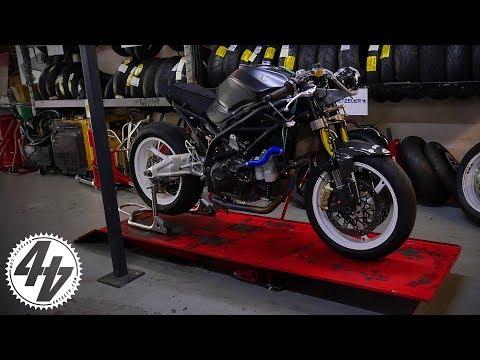 The Trickest Suzuki SV650 Ever?