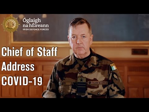 Defence Forces Message - Covid 19 - Defence Forces Message