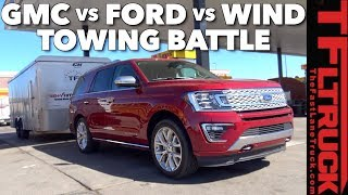 2018 Ford Expedition vs GMC Yukon: Which Truck Gets Better MPG Towing?