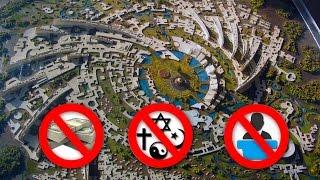 Orasul fara BANI, RELIGIE si POLITICA