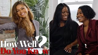 Zendaya Plays How 'Well Do You Know?' With Her Glam Team | THR