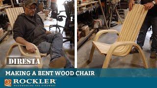 Steam Bending Wood   Jimmy DiResta Makes a Bent Wood Chair
