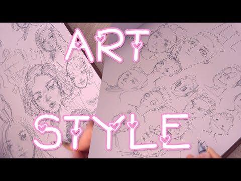Как найти свой стиль рисования людей