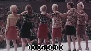 Регина Збарская на I Международном московском фестивале моды. Лужники. 1967 г.  Часть 1.