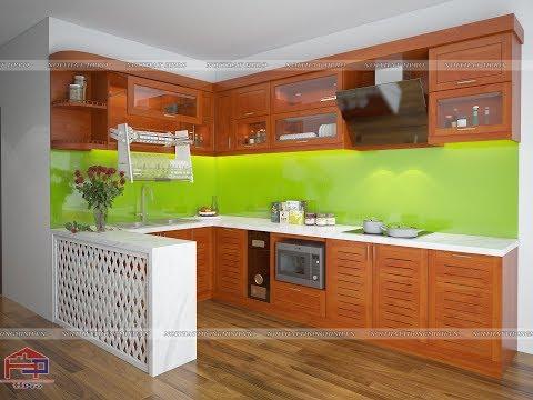 giá nội thất nhà bếp