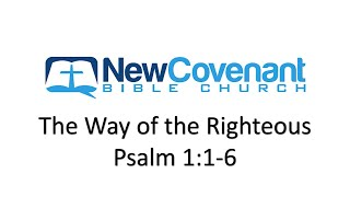 The Way of the Righteous - Psalm 1:1-6