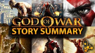 God of War  Original Saga Story Summary  What You Need to Know!