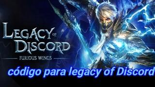 Código para legacy of Discord