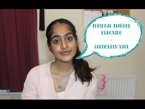 BACK TO SCHOOL 2016: Personal Planner Unboxing + Stationery Haul | Iqra Arshad