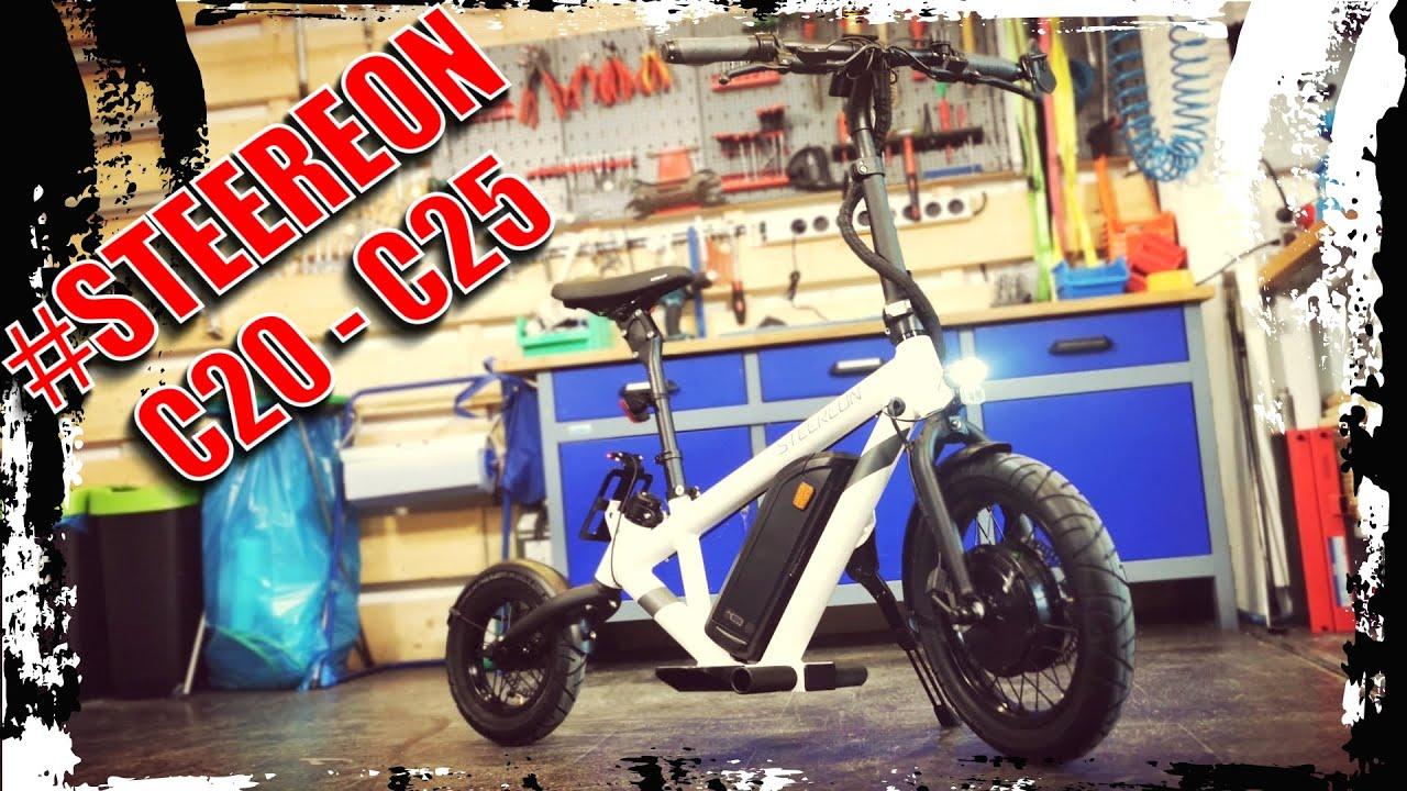 STEEREON C20-C25 ⚡ E-BIKE oder E-Scooter 2021? ⚡ E-Scooter, E-Roller, Hybrid, Unboxing (DEU-GER)