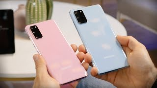 Samsung Galaxy S20 and S20 Plus Hands-on