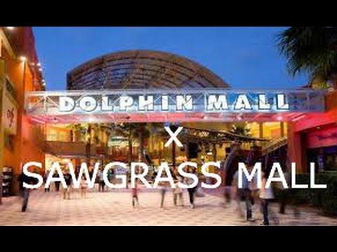 (1) Sawgrass mall: comprende todas las tiendas que se encuentran al interior del centro comercial y las atracción infantil Wannado city; (2) The Oasis: corredor al aire libre con tiendas, restaurantes y entretenimiento como los cines Regal 23) y (3) la última adición efectuada en ,The Colonnades at Sawgrass Mills: un sofisticado boulevard al aire libre con lujosas marcas como Coach y Burberry y .