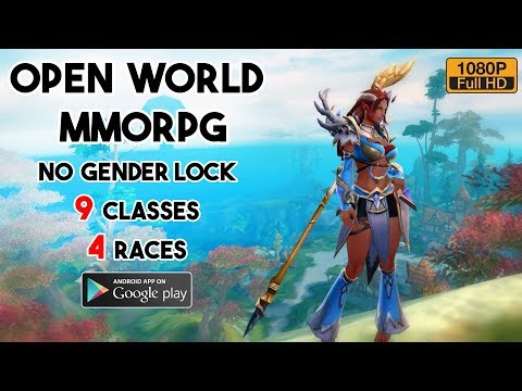 Open World Korean MMORPG The ORK Gameplay Android Mobile