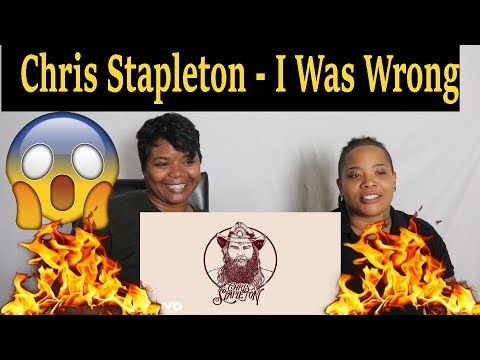 😱SURPRISED🔥  Chris Stapleton - I Was Wrong (Audio) Reaction Ft. J100 and Aunt
