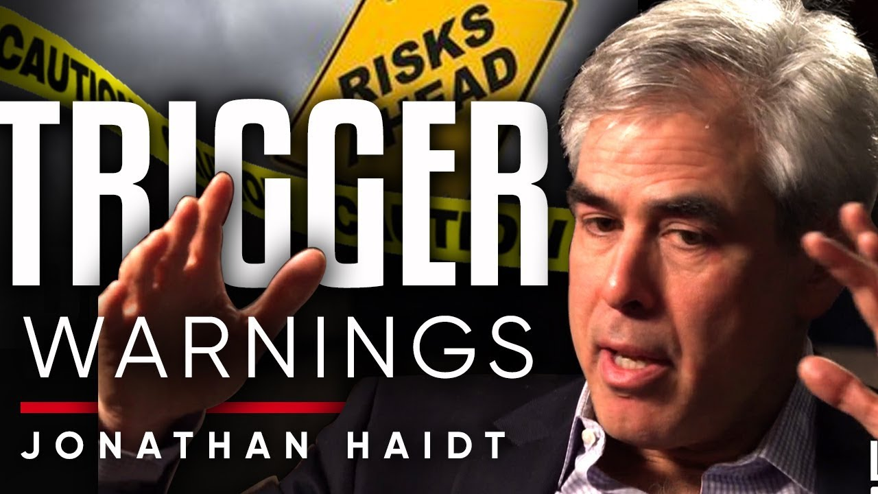 JONATHAN HAIDT - TRIGGER WARNINGS: How Are American Colleges Are Forced To Stay Quiet? | London Real