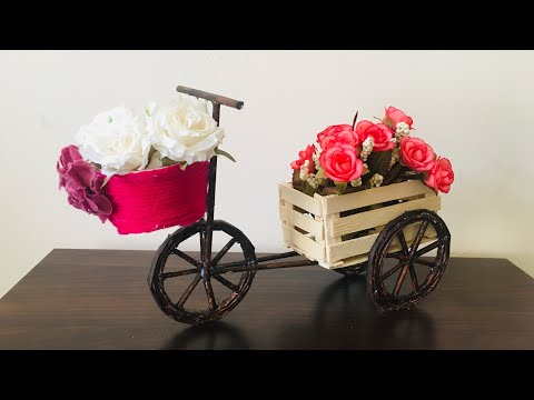 DIY Paper cycle || NewsPaper Craft Idea ||Best out of waste|| Easy Paper Craft Idea||