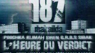 "187 feat Alkpote - ""Les choses se compliquent"" // Prod. by Sibak (Audio)"