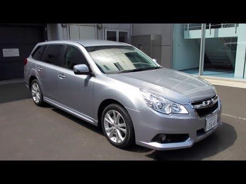 Subaru Eyesight Video >> 2012 SUBARU LEGACY TOURING WAGON - Exterior & Interior ...