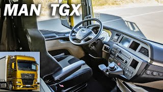 2020 Man TGX - Intęrior detailed look, MAN Truck
