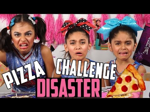 Pizza Challenge Parody : SKETCH COMEDY // GEM Sisters