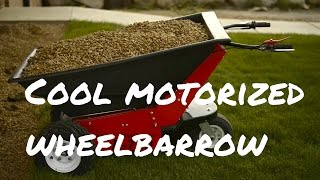 Motorized Wheelbarrow Wheels