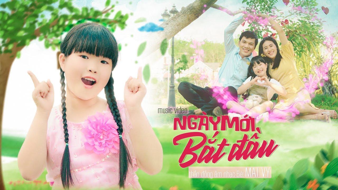 Ngày Mới Bắt Đầu ✿ Thần Đồng Âm Nhạc Việt Nam Bé MAI VY ♪ Nhạc thiếu nhi hay nhất 2021
