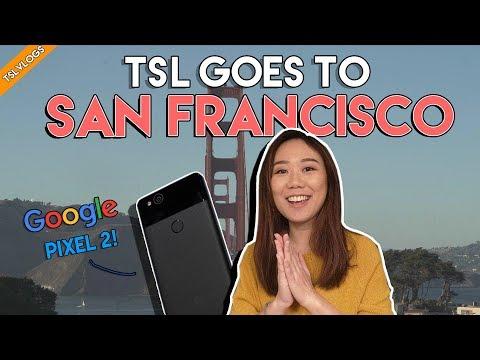 GOING TO SAN FRANCISCO FOR GOOGLE PIXEL 2 XL! + MINI REVIEW  TSL Vlogs