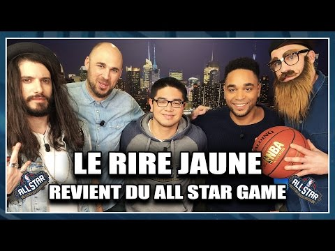 LE RIRE JAUNE REVIENT DU ALL STAR GAME ! NBA First Day Show #11