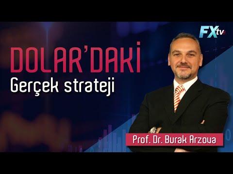 Dolar'daki gerçek strateji | Prof. Dr. Burak Arzova