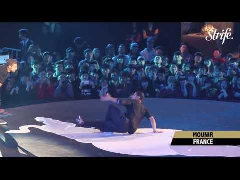 MOUNIR vs GRAVITY | STRIFE. | Red Bull BC One 2013 World Finals in Seoul