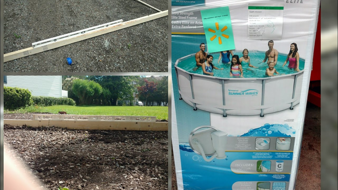 Download How to level the ground for an above ground pool