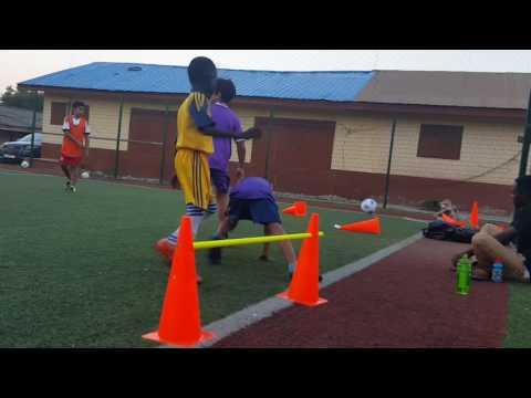 Astros football kids club trianing 13 ghana