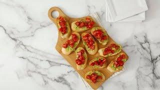 Tomato-Avocado Toasts- Martha Stewart