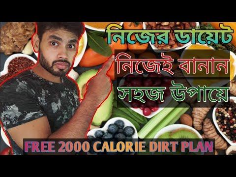 ডায়েট-প্ল্যান-কিভাবে-বানাবেন??-2000-calorie-diet-plan-i-ডায়েট-চার্ট-।