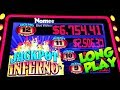 JACKPOT INFERNO Slot Machine - MAX BET Long Play - Fun Session!