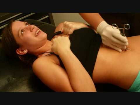 Belly Button Piercing D Youtube