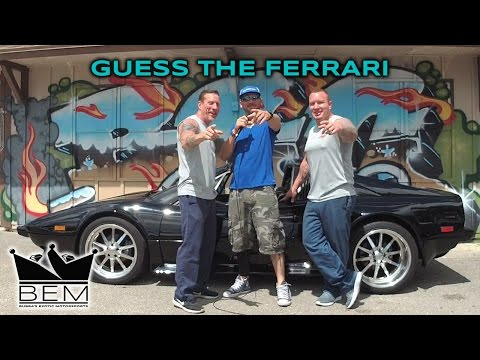 Guess the Ferrari  - Inside the Shop with Bubba & Tom