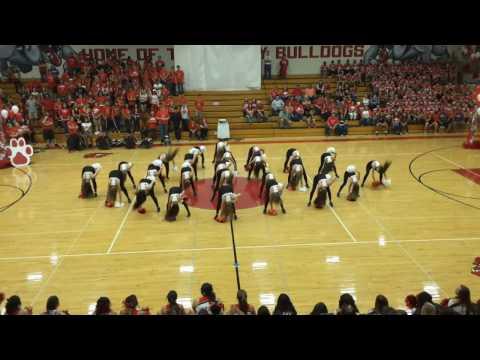 Pueblo Centennial High School Dance Team 2016 - Bell Assembly