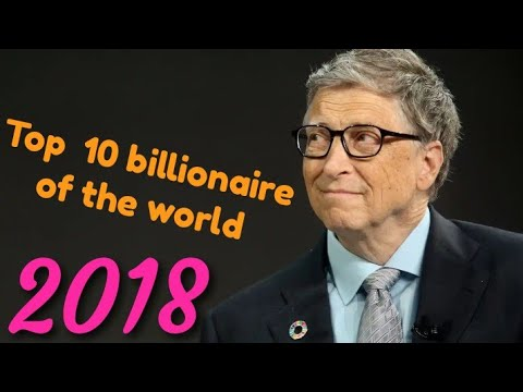 Top 10 billionaire of the world (2018)