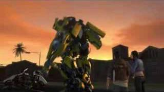 Transformers - The Game - Autobots Cut Scenes part 1