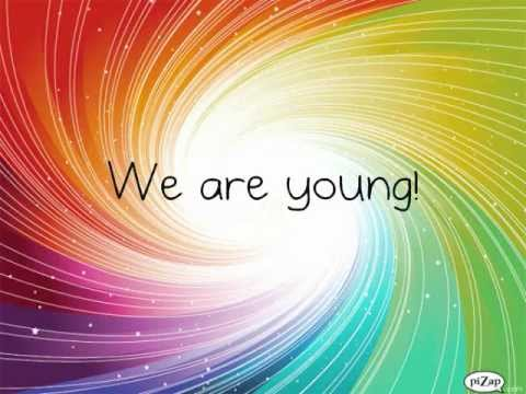 We Are Young Glee Cast
