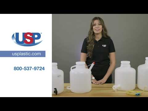 Tamco® Modified Thermo Scientific™ Nalgene™ WM Carboys With Spigots | U.S. Plastic Corporation®