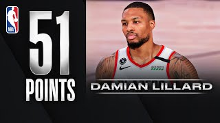 Damian Lillard Records His 5th 50+ Point Game Of The Season!