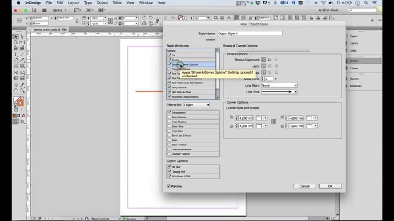 Indesign Page Number Styles