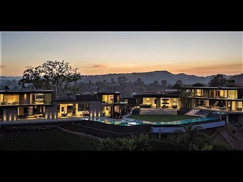 $50,000,000 CELEBRITY SUPERSTAR GIGA MANSION BEVERLY HILLS CALIFORNIA