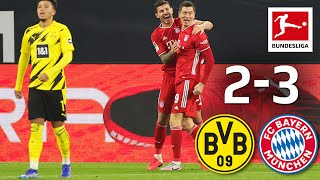 Lewy & Haaland score, Kimmich injured | Dortmund - Bayern 2-3 | Highlights | Matchday 7 – Bundesliga